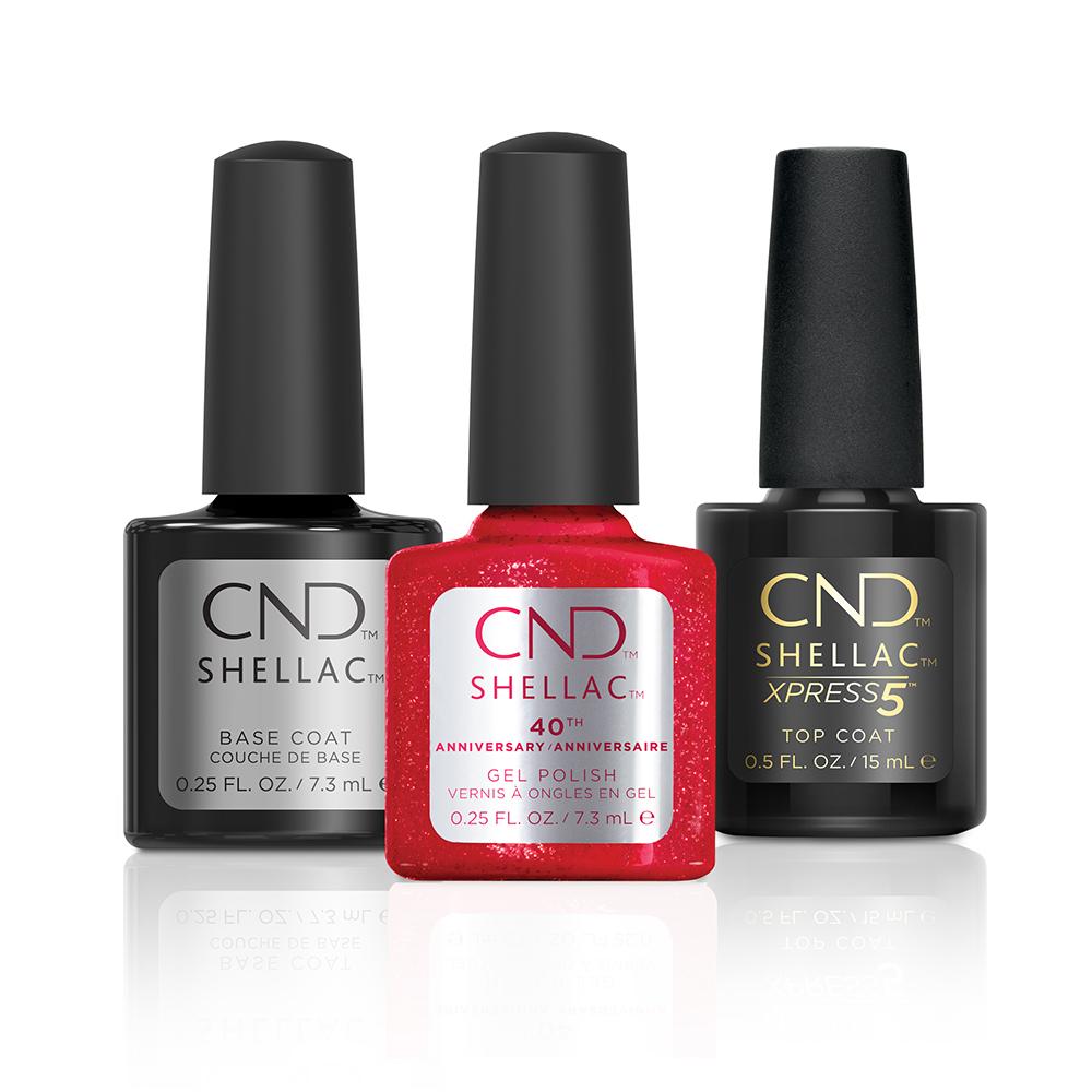 CND™ SHELLAC™ Brand Gel Polish / Le vernis gel SHELLAC™ par CND™